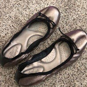 Dexflex comfort shoes.
